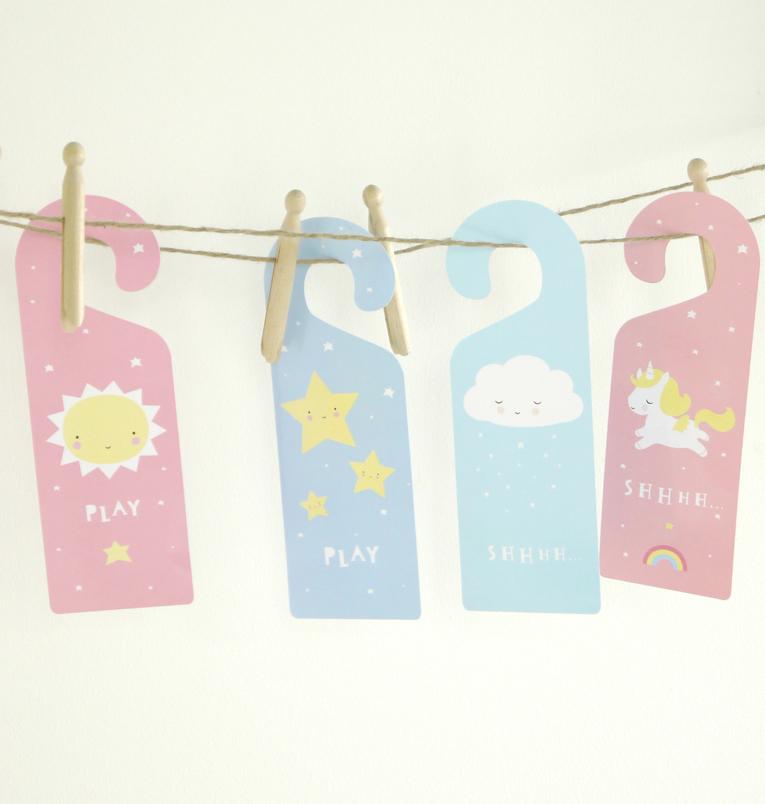 & Cloud Door Hanger