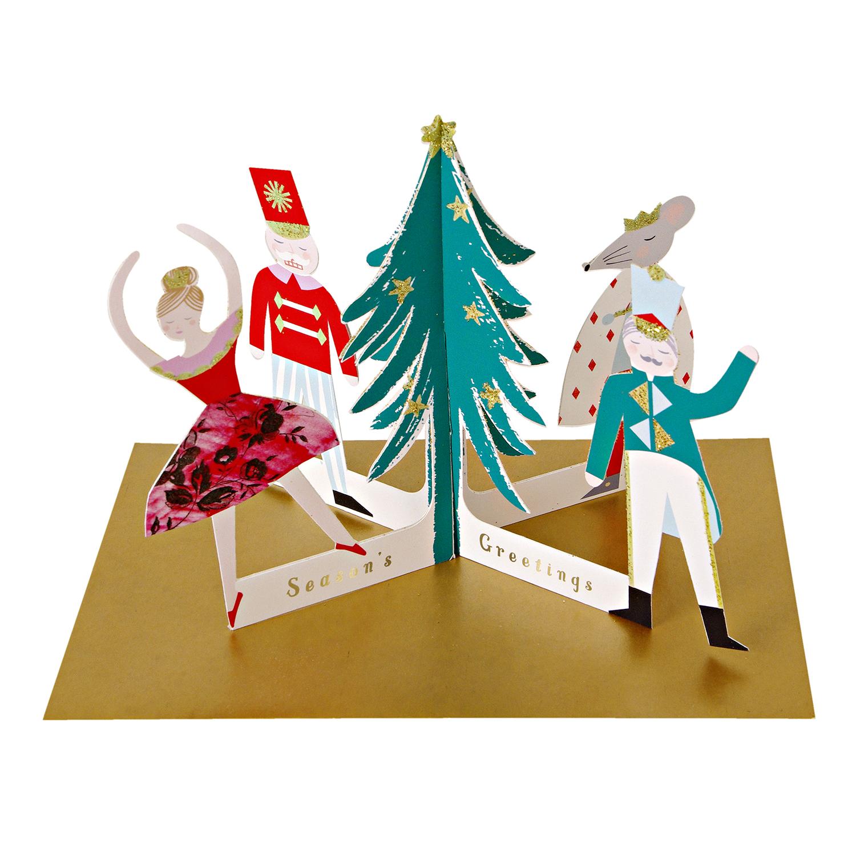 Christmas Nutcracker Card Counter
