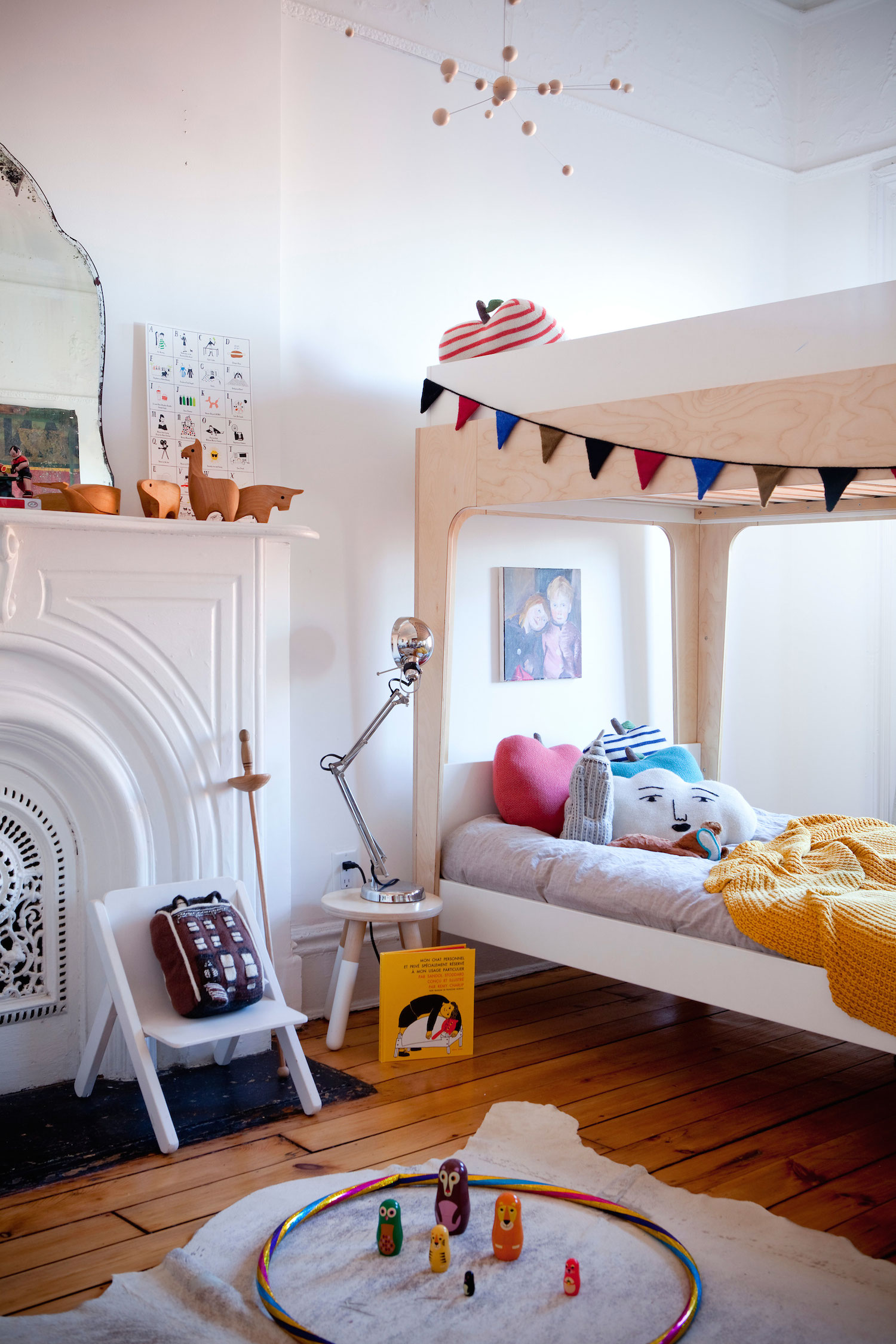 Perch bunk bed roomsetting 1