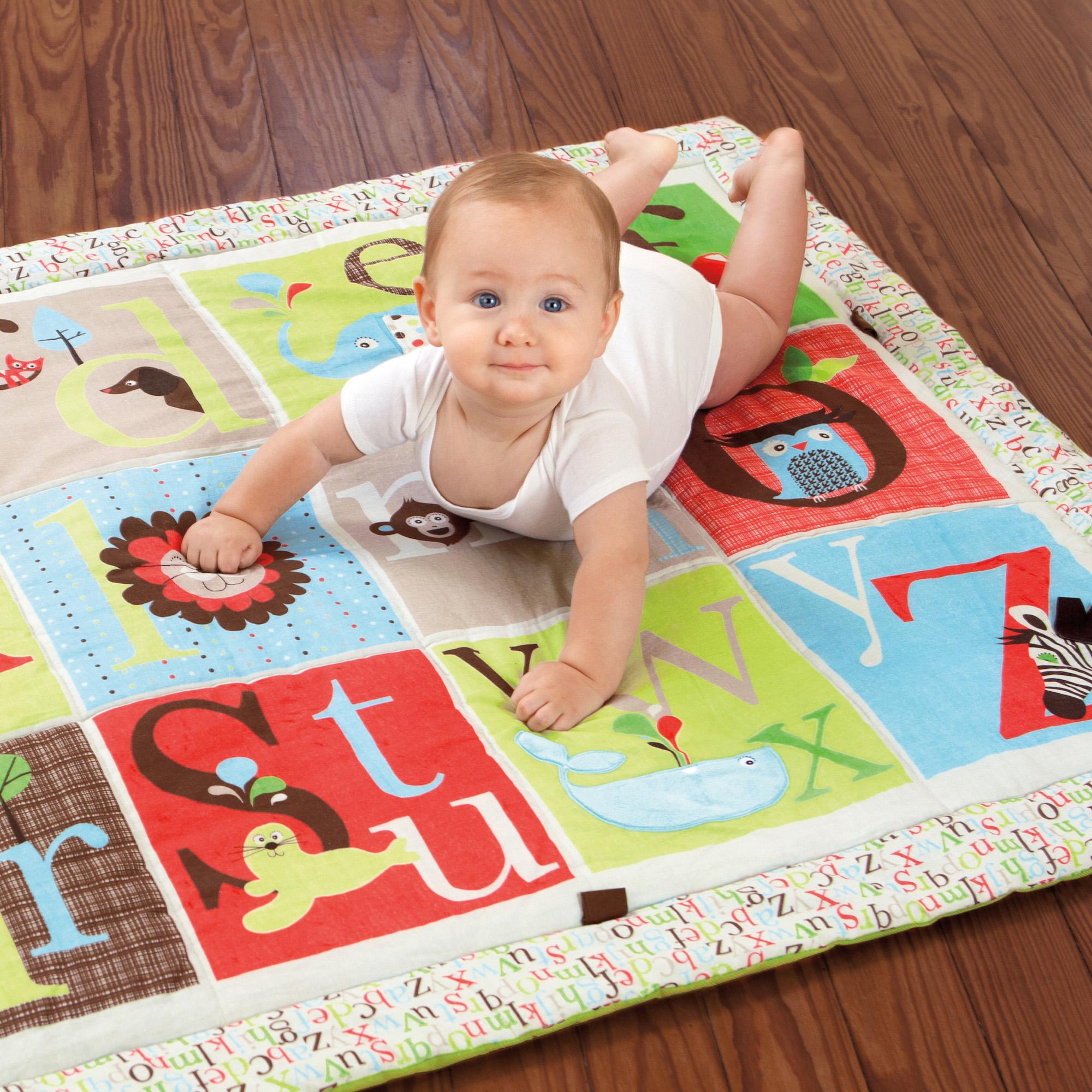 Tappeto gioco zoo alfabeto - Alfombras para bebe ...