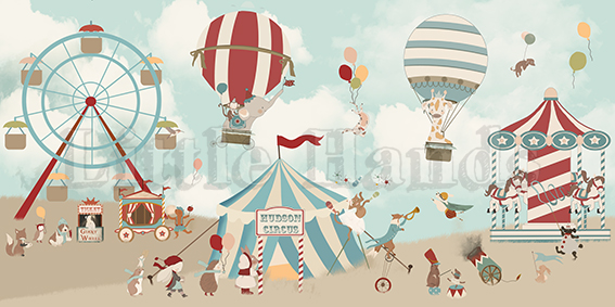 boys wallpaper the circus - photo #42
