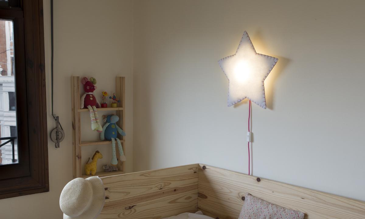 Applique soft light stella