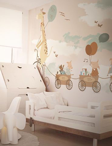 Murale Carta Da Parati Playtime