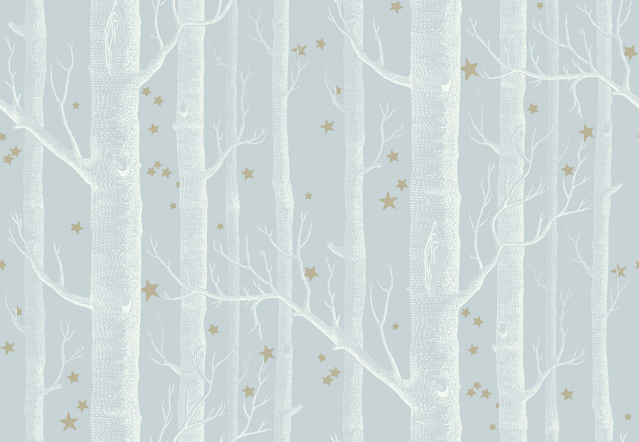 woods amp stars wallpaper grey