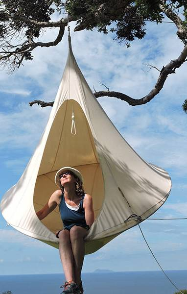 Cacoonworld, una tenda sospesa per bambini & adulti :: Baby Bottega