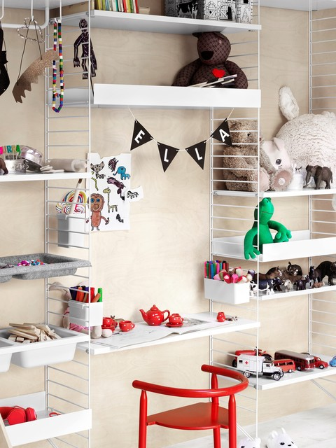 String Furniture a working shelving system for way more than books :: Baby Bottega