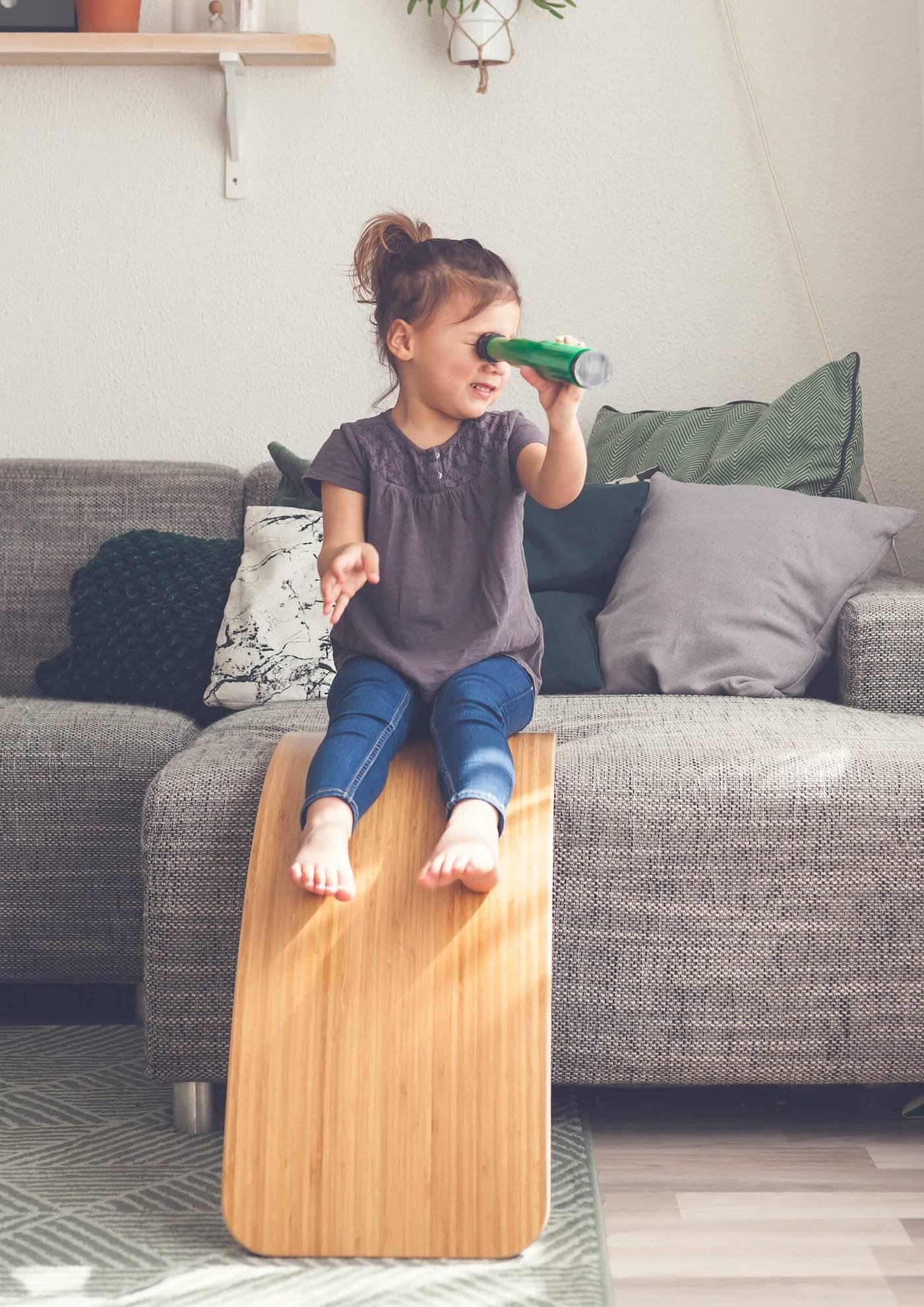 Wobbel Balance Board & Montesorri Toys :: Indoor Playground :: Baby Bottega