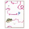 Charlie il Camaleonte poster di Mado :: acquista su Baby Bottega