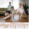 Mopitri, triangolo Pikler modificabile con rampa di Ette Tete :: acquista su Baby Bottega