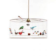 lampadario uccellini demi grand voliere baby bottega firenze