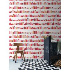 Wallpaper Mural Red Houses