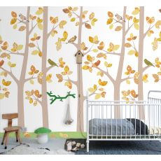 Wallpaper Mural Trees October