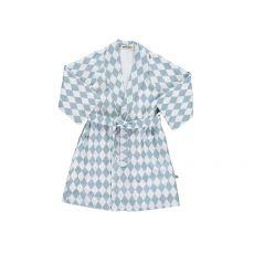 Blue Diamonds Jakarta Dressing Gown