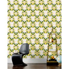 Pineapple Yellow Wallpaper