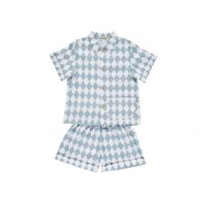Blue Diamonds Bangkok Short Pyjama