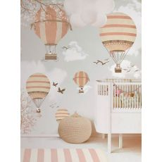 Balloon Ride II Wallpaper Mural