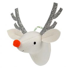 Reindeer Head Christmas Wall Decoration