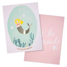 Mermaid Art Prints from Meri Meri