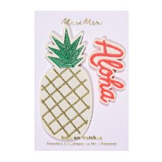 Pineapple Embroidered Patches from Meri Meri :: Baby Bottega