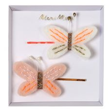 Embroidered Butterfly Hair Pins from Meri Meri :: Baby Bottega