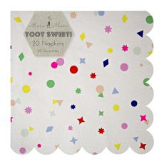 Toot Sweet Charms Large Napkins