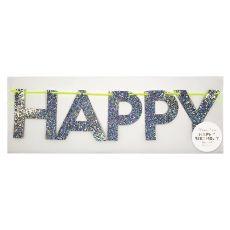 Multicolour Happy Birthday Garland