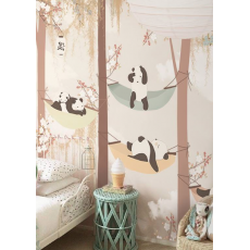 Sleeping in the Trees Wallpaper Mural
