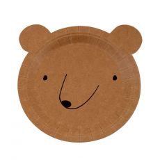 Small Bear Plates from Meri Meri :: Baby Bottega