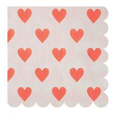Heart Large Napkins