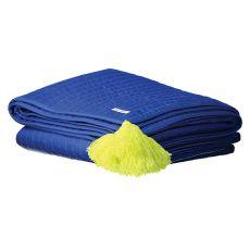 Trapunta in Cotone Blu