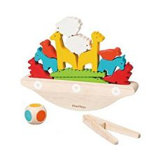 Balancing Boat, sustainable toys from Plan Toys :: Baby Bottega