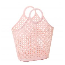 Pink Atomic Tote Bag