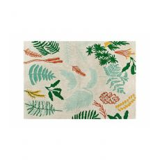 Botanical Plants Washable Rug