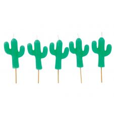 Cactus Cake Candles