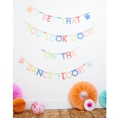 Multicolor Letter Garland Kit from Meri Meri :: Baby Bottega