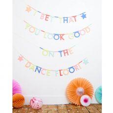 Ghirlanda Multicolore con Lettere di Meri Meri :: acquista su Baby Bottega