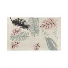 Tropical Pink Washable Rug