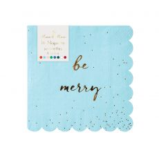 Be Merry Glitter Napkin from Meri Meri :: Baby Bottega