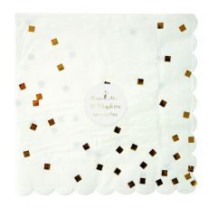 Gold Napkin from Meri Meri :: Baby Bottega