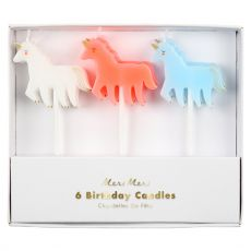 Pastel Candles Unicorn from Meri Meri
