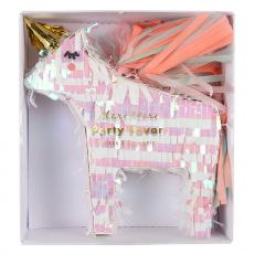 Unicorn Pinata Favor from Meri Meri