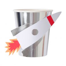 Rocket Party Cups from Meri Meri