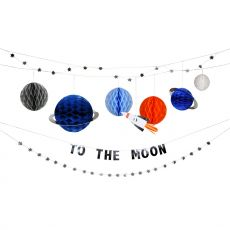 To The Moon Garland  from Meri Meri