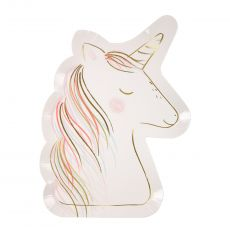 Unicorn Party Plates from Meri Meri