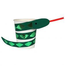 Bicchieri con Serpente Attorcigliato di Meri Meri :: acquista su Baby Bottega