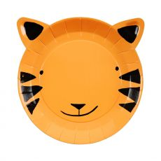 Tiger Small Party Plates from Meri Meri