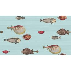 Acquario, wallcovering in light blue tones :: Cole & Son