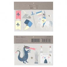 Dragon Knights Tattoos from Meri Meri :: Baby Bottega