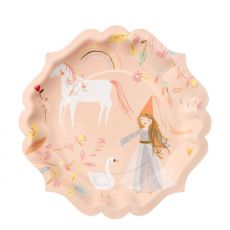 Magical Princess large plates from Meri Meri :: Baby Bottega