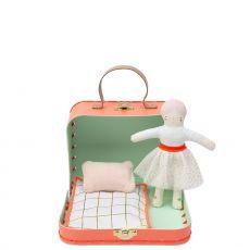 Mini Matilda Doll Suitcase from Meri Meri :: Baby Bottega